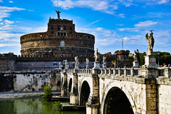 Castel Santangelo Royalty Free Stock Photos