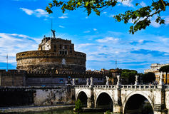 Castel Santangelo Stock Photography