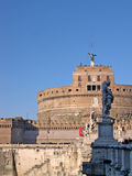 Castel SantAngelo in Rome Italy Stock Images