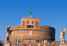 Castel SantAngelo in Rome Italy Royalty Free Stock Photos