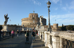 Castel SantAngelo in Rome Royalty Free Stock Photos