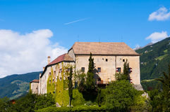 Castel Scena - Schloss Schenna. Castel Scena / Schloss Schenna is a wonderful castle in South Tyrol Royalty Free Stock Photos