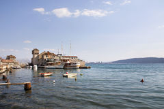 Castel on the sea Stock Photography