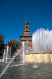 Castel sforzesco Royalty Free Stock Images