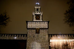 Castel Sforzesco - Mailand - sechs Lizenzfreies Stockfoto