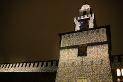 Castel Sforzesco - Milano - Four Stock Photos