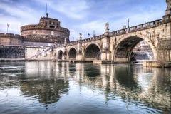 Castel St.Angelo στη Ρώμη Στοκ Εικόνες