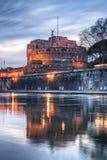 Castel St.Angelo στη Ρώμη Στοκ Φωτογραφία