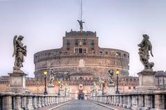 Castel St.Angelo στη Ρώμη Στοκ εικόνες με δικαίωμα ελεύθερης χρήσης