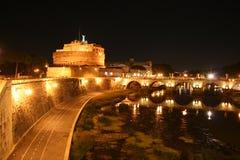 Castel St. Angelo: The Hadrian's Mausoleum Royalty Free Stock Photo