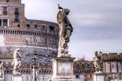 Castel St.Angelo in Rome Royalty Free Stock Photos
