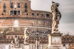 Castel St.Angelo in Rome Stock Photography