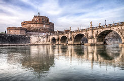 Castel St.Angelo in Rome Royalty Free Stock Photography
