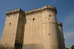 Castel of Tarascon Stock Images