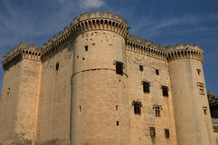 Castel of Tarascon Stock Photo
