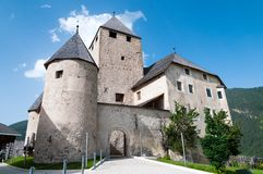 Castel Tor - Schloss Thurn. The wonderful castle of the Museum Ladin Ciastel de Tor in South Tyrol - Italy Stock Photography