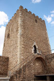 Castel tower Stock Images