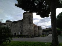 Castel Ursino. An ancient building in Catania stock photo