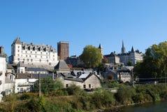 Castel van Pau in Frankrijk stock afbeeldingen