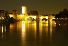 Castel Vecchio Вероны Стоковые Изображения RF