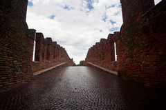 Castel Vecchio bridge Stock Image