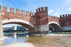 Castel Vecchio Bridge, Verona Stock Image