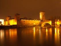Castel Vecchio Verona Stockfotografie