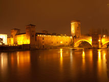 Castel Vecchio Verona Stock Photography