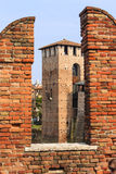 Castel in Verona. Stock Image