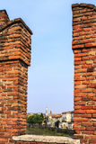 Castel in Verona. Royalty Free Stock Photo