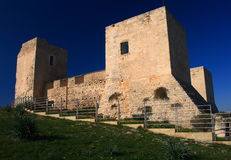 Castel von Cagliari. lizenzfreie stockbilder