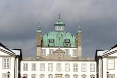 Castel von fredensborg Lizenzfreies Stockbild
