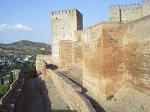 Castel wall Royalty Free Stock Image
