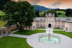 Castel Wolfsthurn, Vipiteno 库存照片