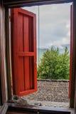 Castelbianco Μια φωλιά στοκ φωτογραφία με δικαίωμα ελεύθερης χρήσης