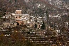 Castelbianco Foto de archivo libre de regalías