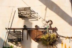 Castelbianco, oude hulpmiddelen Stock Afbeeldingen