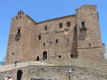 Castelbuono - The Castle. The Castle with Arab-Norman features in Sicily Royalty Free Stock Images