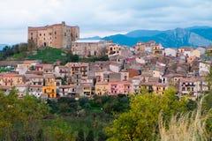 Castelbuono Royalty Free Stock Photos