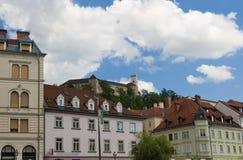 Castele Ljubliana Σλοβενία Στοκ φωτογραφία με δικαίωμα ελεύθερης χρήσης