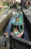 Castelefield布里奇沃特运河 免版税库存图片
