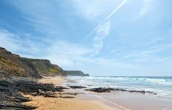 Castelejo strand & x28; Algarve Portugal& x29; Arkivfoto