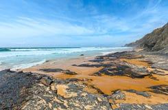 Castelejo strand & x28; Algarve Portugal& x29; Royaltyfri Fotografi