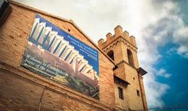 Castelfidardo Ancona - Marche - accordion instrument hometown stock photos