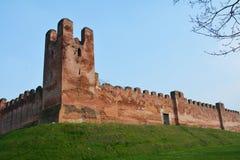 Castelfranco在威尼托,特雷维索省 库存照片