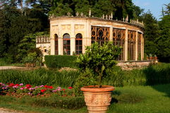Castelfranco di Veneto, Italy: Orangerie in Park Royalty Free Stock Photos