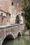 Castelfranco Vénétie (Italie) - entrée image libre de droits