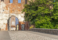 Castelfranco Vêneto, Treviso, Itália fotografia de stock royalty free