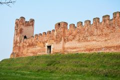 Castelfranco Veneto and ancient walls Stock Photography