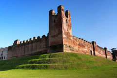 Castelfranco Veneto medieval walls Royalty Free Stock Photos